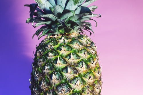 Gratis stockfoto met ananas, close-up, copyspace, detailopname