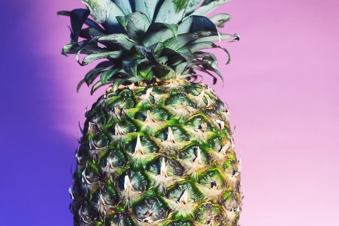 ananás, čerstvý, Copyspace