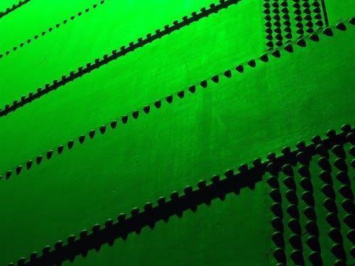 Imagine de stoc gratuită din fundal abstract, structură de oțel, structură metalică, verde