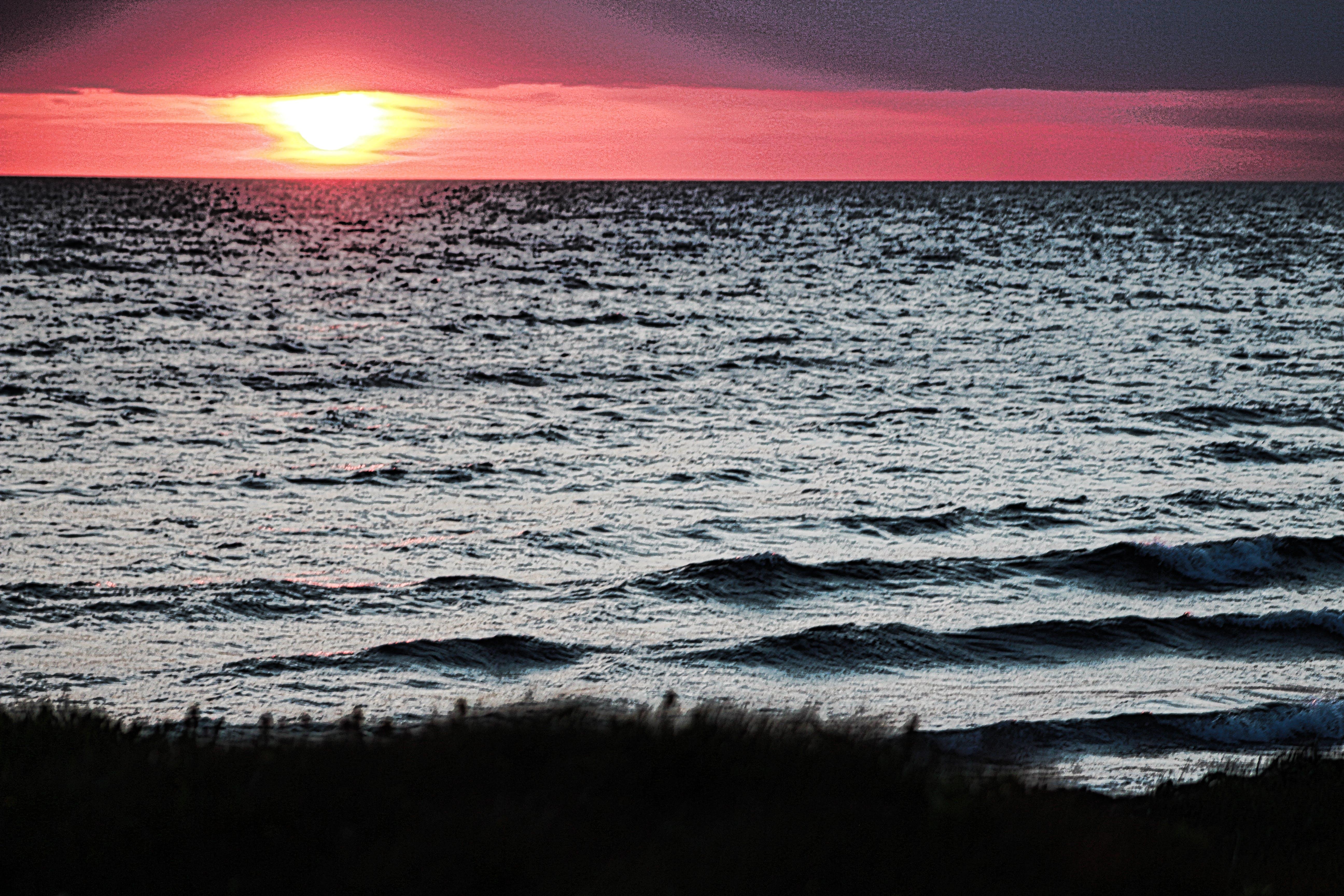 Free stock photo of golden, sunset