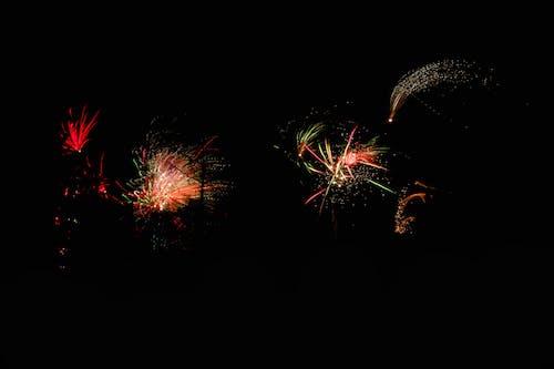 Foto d'estoc gratuïta de any nou, Cap d'any, colors, focs artificials
