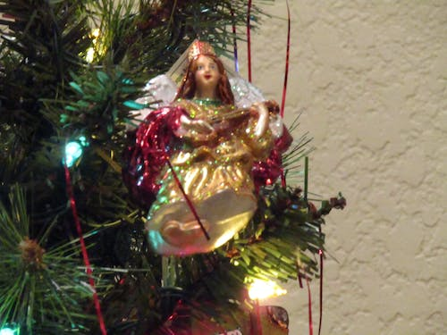 Free stock photo of angel, bauble, christmas, christmas tree
