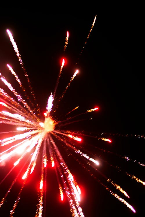 Free stock photo of firework, new year, rocket