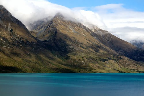 Immagine gratuita di alpi meridionali, glenorchy, lago wakatipu, mare