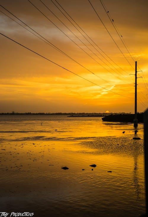 คลังภาพถ่ายฟรี ของ การสะท้อน, การเดินทาง, ชายฝั่งทะเล, ชายหาด