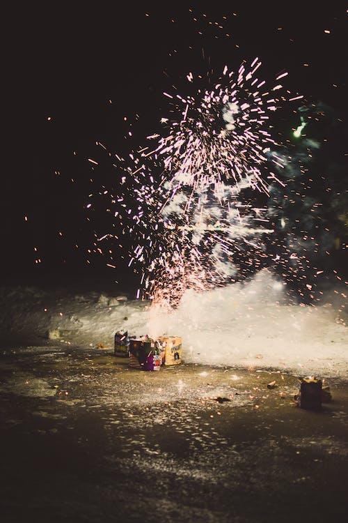 Free stock photo of 2019, fireworks, fun