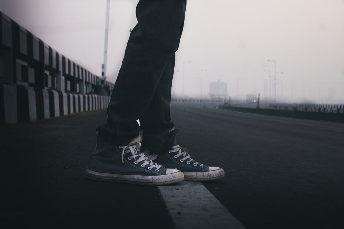 ceață, cețos, drum