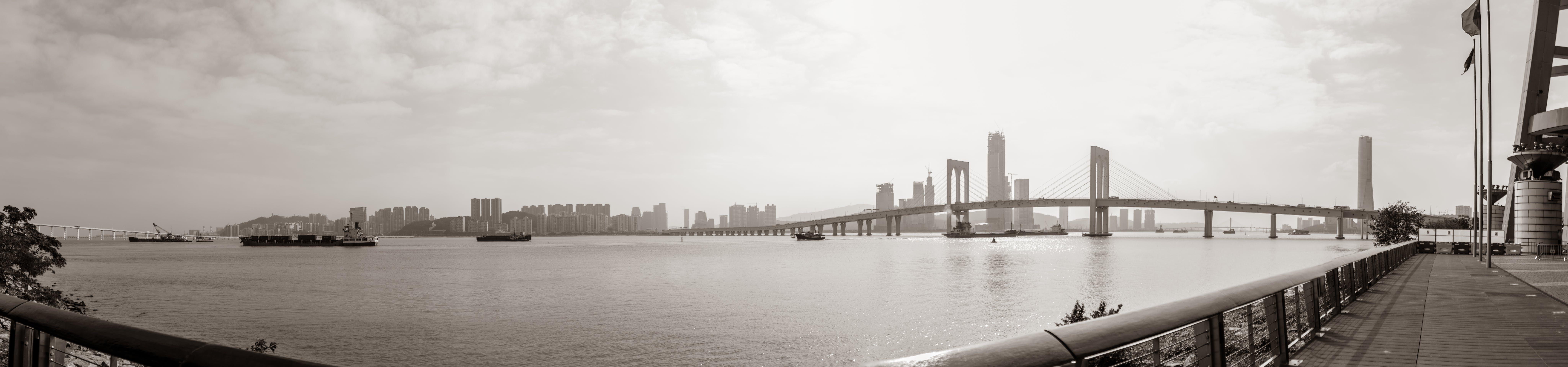 Free stock photo of black and white, cityscape, Macau, noir