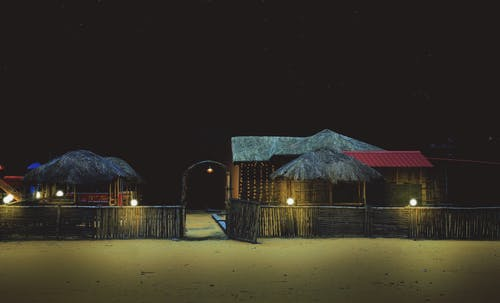Immagine gratuita di buio, notte, ristorante, vita notturna