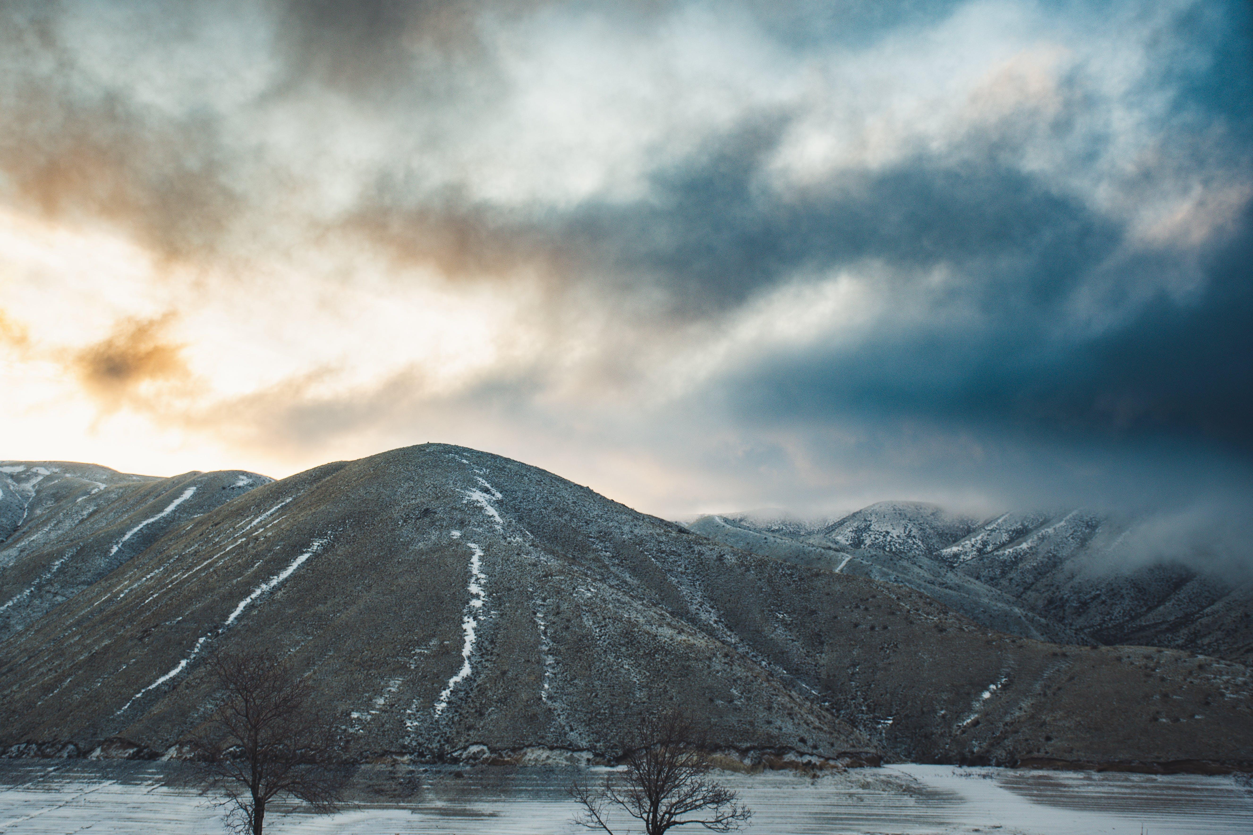 Základová fotografie zdarma na téma hora, krajina, malebný, mraky