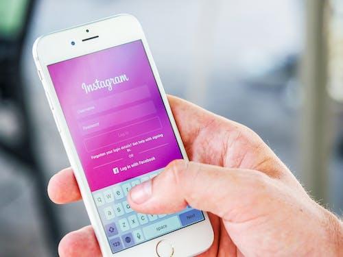 Δωρεάν στοκ φωτογραφιών με instagram, internet, iphone