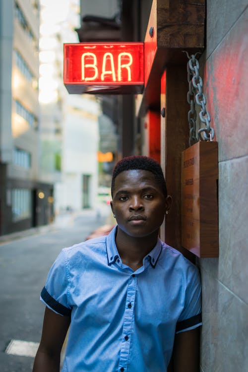 Imagine de stoc gratuită din bar, bărbat de culoare, îmbracă, om