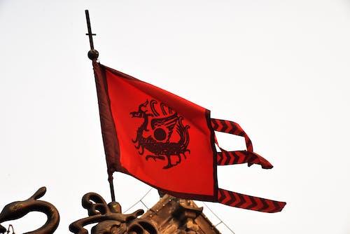 Photos gratuites de ancien drapeau, drapeau de dragon, drapeau traditionnel chinois, symbole chinois