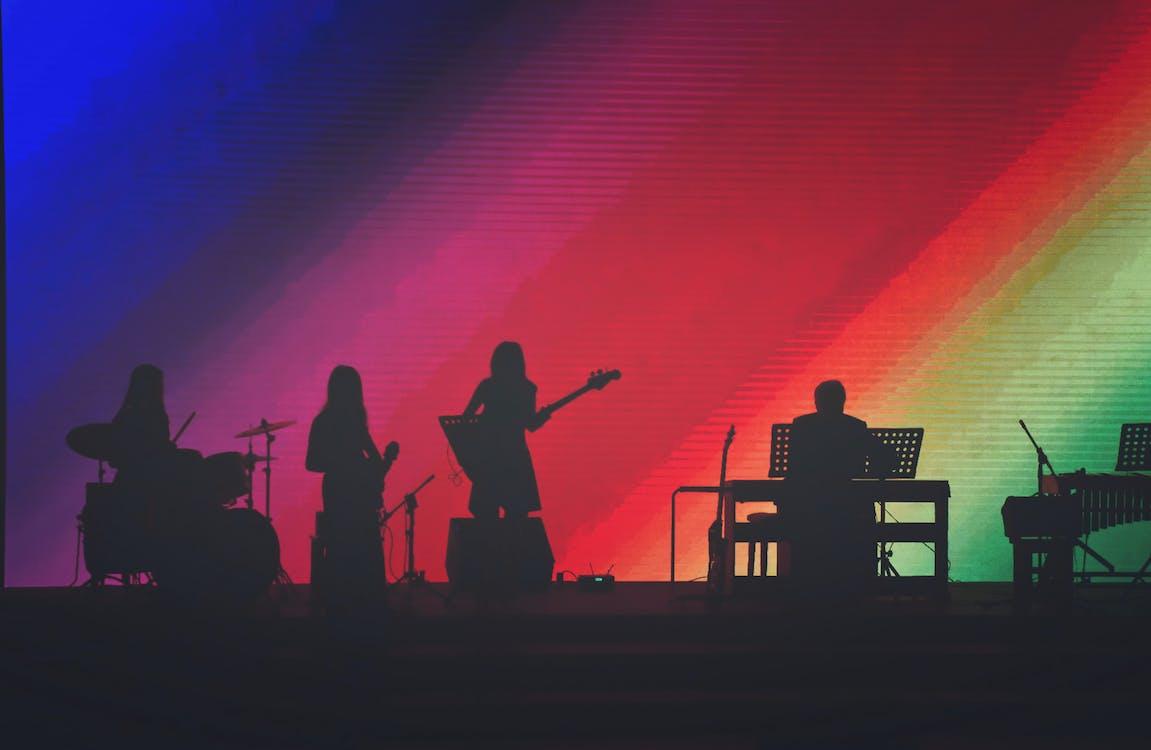 festival, hudobná skupina, hudobníci