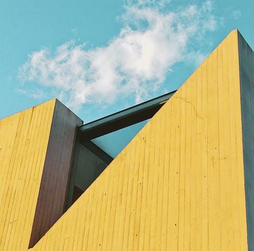 Brown Wooden Fence Under Blue Sky