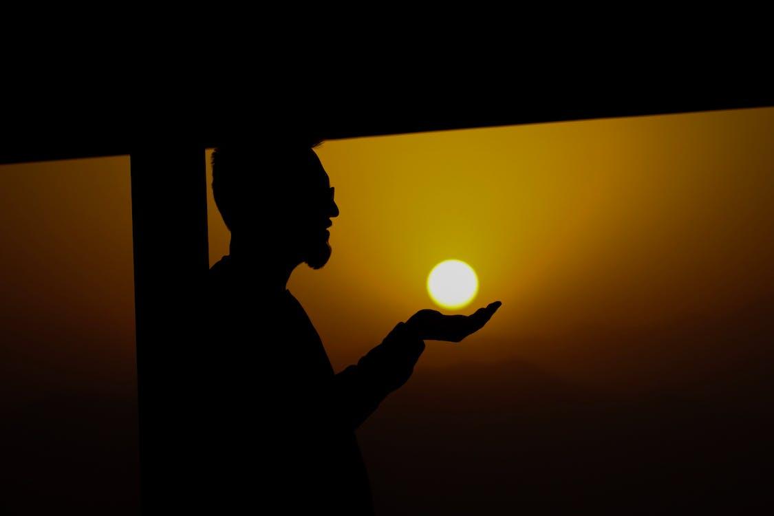 人, 傍晚的天空, 傍晚的太陽 的 免費圖庫相片