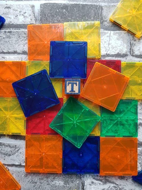 Free stock photo of bricks, embedded, magnets