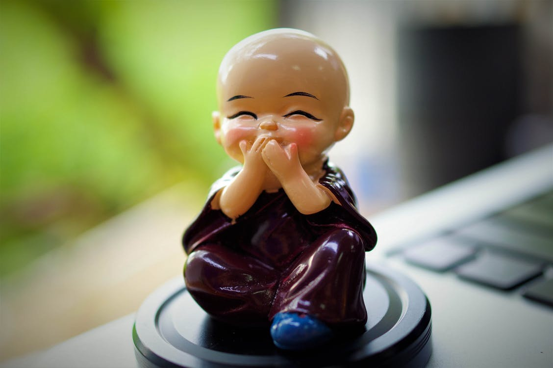 Macro Photo Of A Figurine