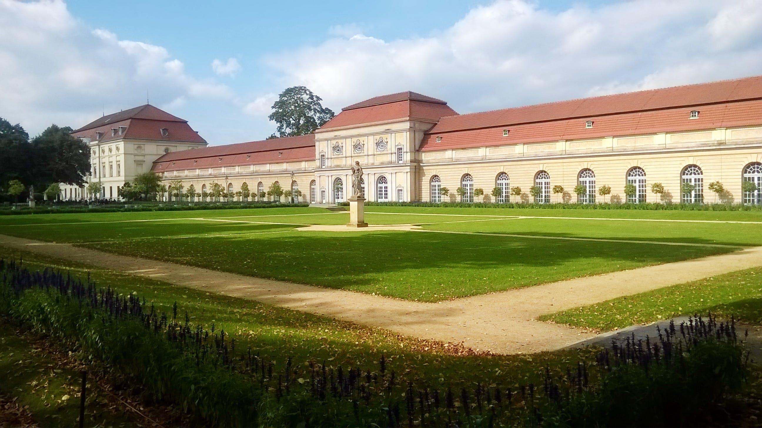 berlin, castle, Charlottenburg Palace