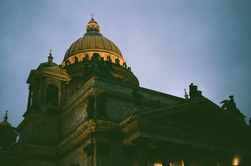 Základová fotografie zdarma na téma architektura, budova, církev, denní