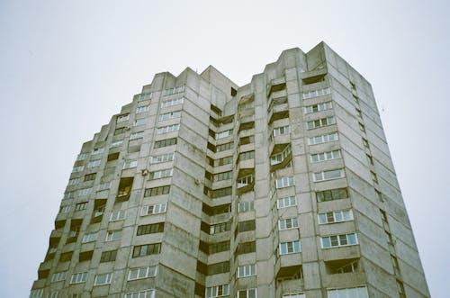 低角度攝影, 公寓樓, 建築, 建築外觀 的 免費圖庫相片