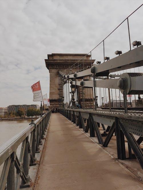 Free stock photo of budapest, chain bridge