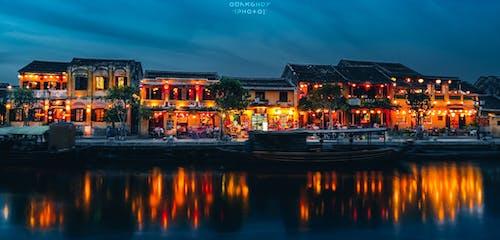 Ảnh lưu trữ miễn phí về bình minh, bờ sông, các tòa nhà, chiếu sáng