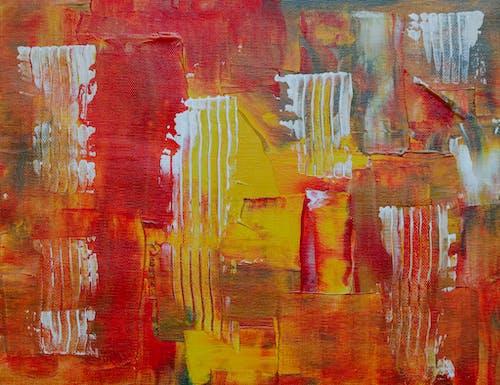 Gratis stockfoto met abstract expressionisme, abstract schilderij, acrylverf, canvas
