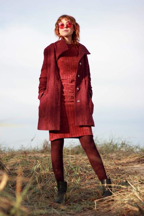 外衣, 大衣, 女人, 時尚 的 免費圖庫相片