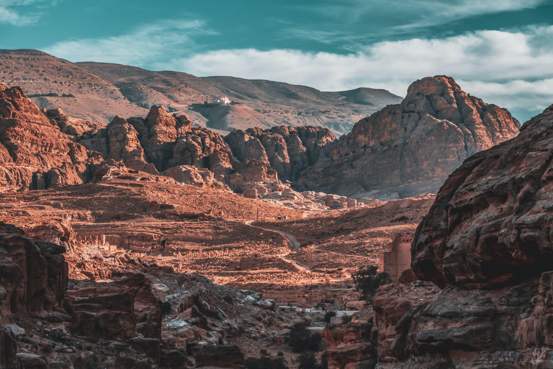 Free stock photo of Adobe Photoshop, aerial photography, jordan, landscape