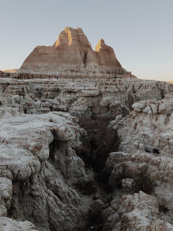 геология, гора, живописный