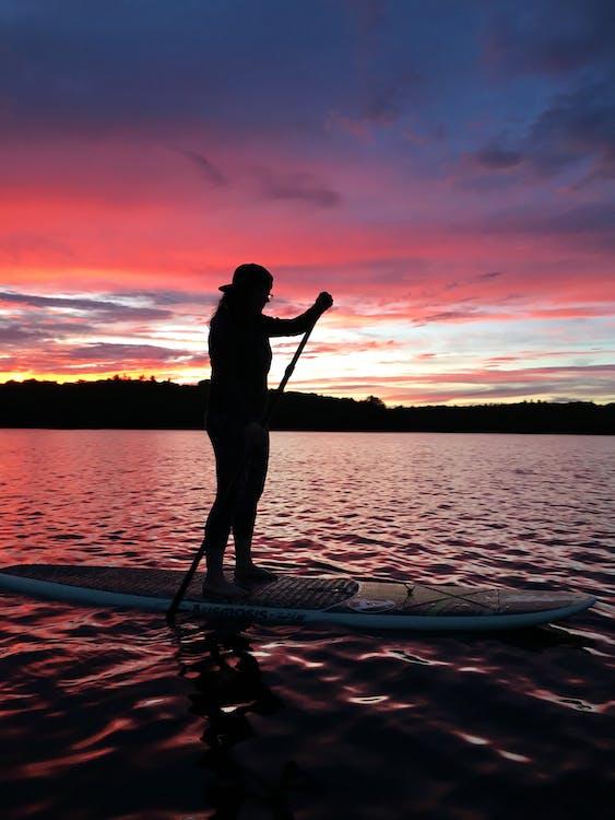 standup paddleboarding, sup, відображення