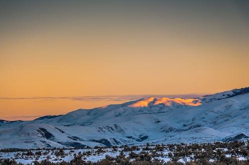 冬季, 冷, 天性, 天空 的 免费素材照片