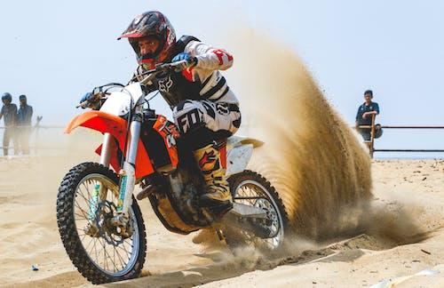 Δωρεάν στοκ φωτογραφιών με dirtbiker, ktm, motocross, supercross