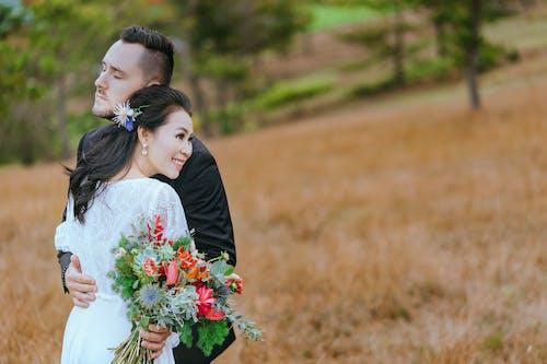 Foto d'estoc gratuïta de afecte, amor, boda, bonic