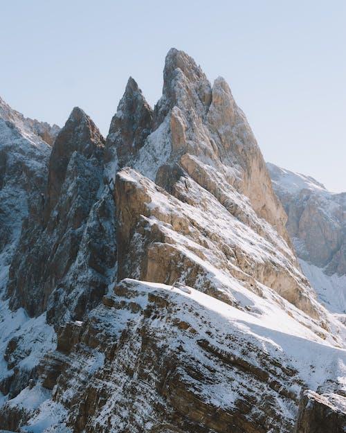 Ilmainen kuvapankkikuva tunnisteilla flunssa, kalliovuori, lumi, luonto