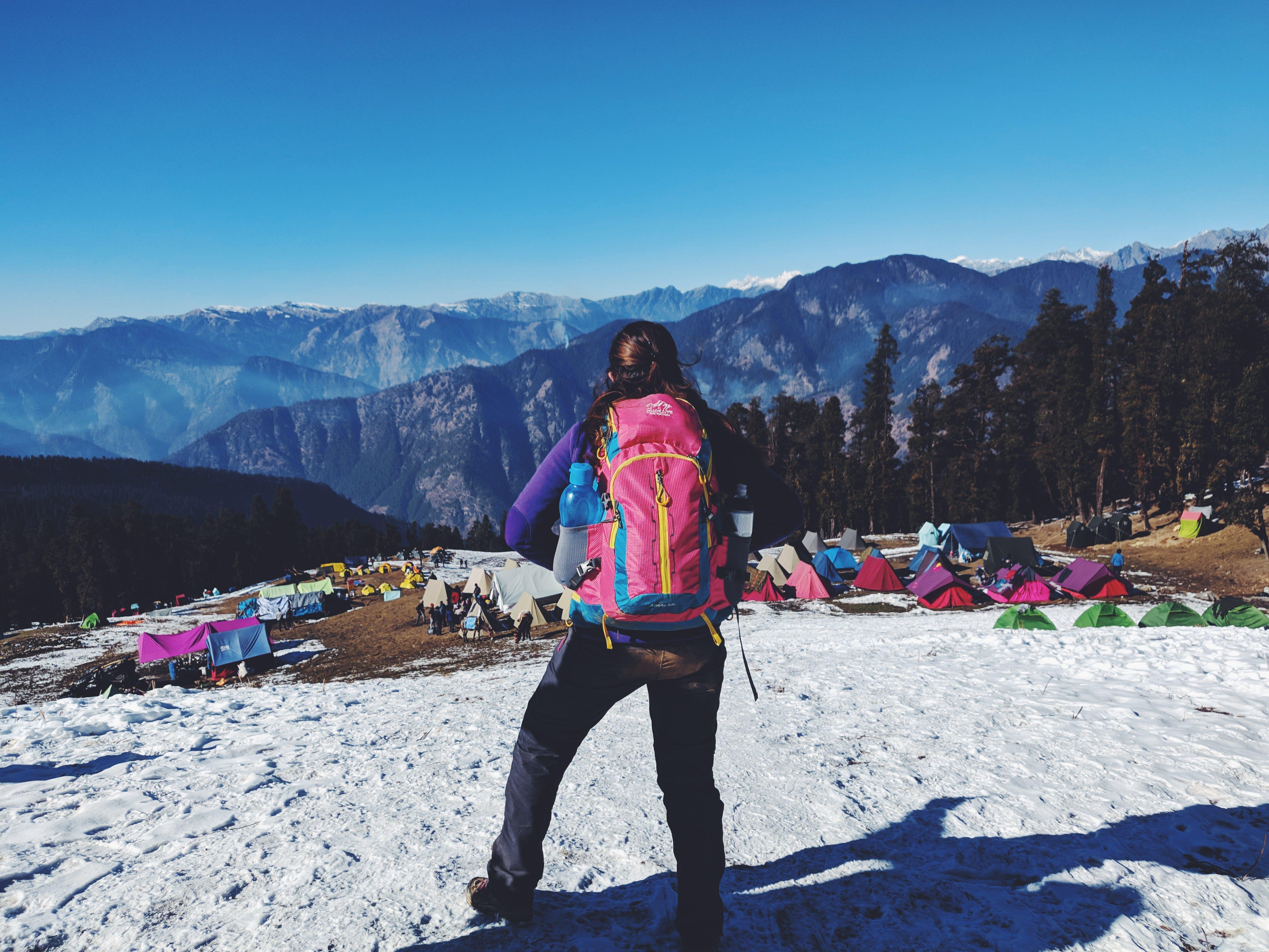Gratis stockfoto met avontuur, backpack, berg, camping