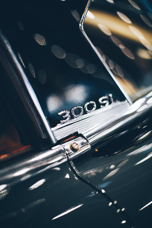 Free stock photo of 300 sl, auto, automobile, blur