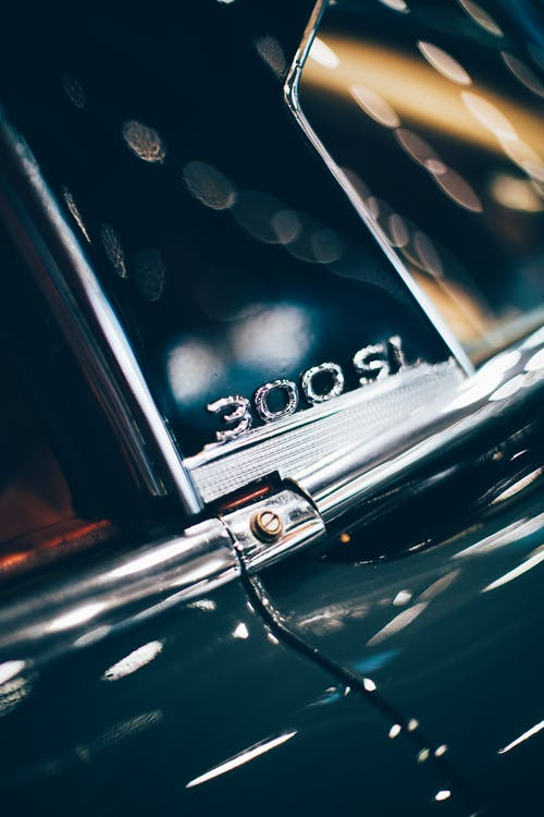 Free stock photo of 300 sl, auto, automobile, blur