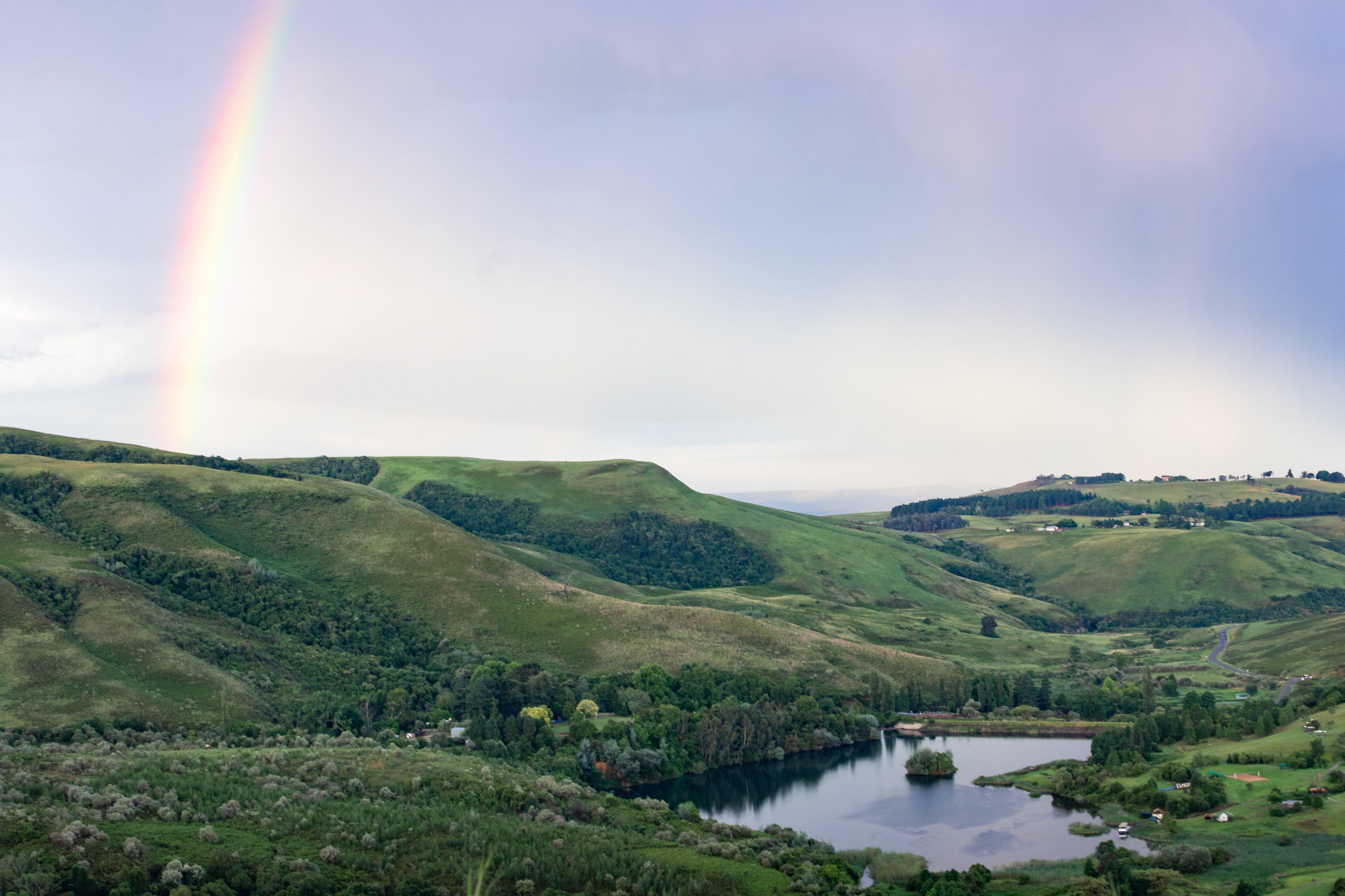 Rainbow Under Hills