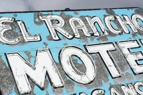 Photos gratuites de bleu, couleur, enseigne, motel