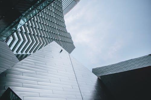 ローアングルショット, 建物, 建築, 建築デザインの無料の写真素材