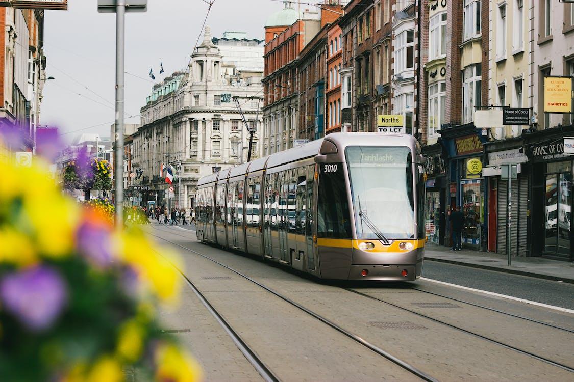 Photo Tram at Street