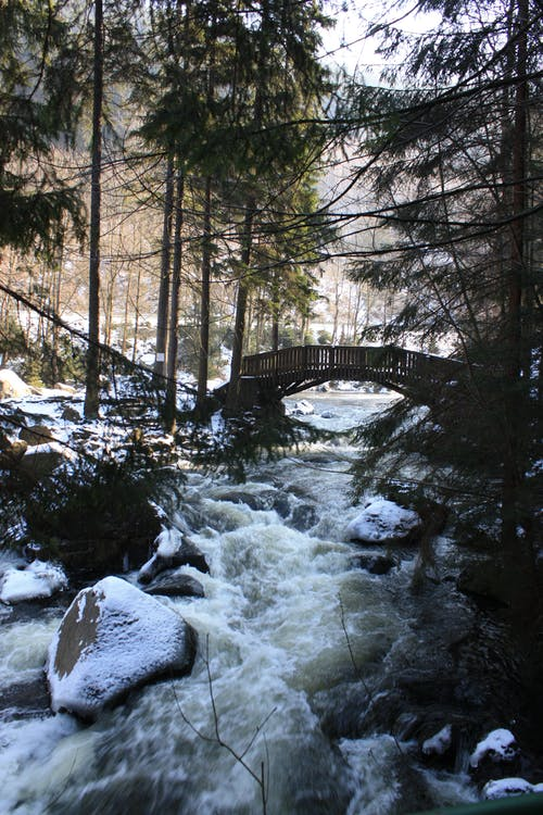 Photo of River During Winter