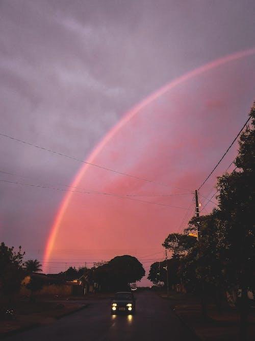 Imagine de stoc gratuită din apus, cer, curcubeu, răsărit