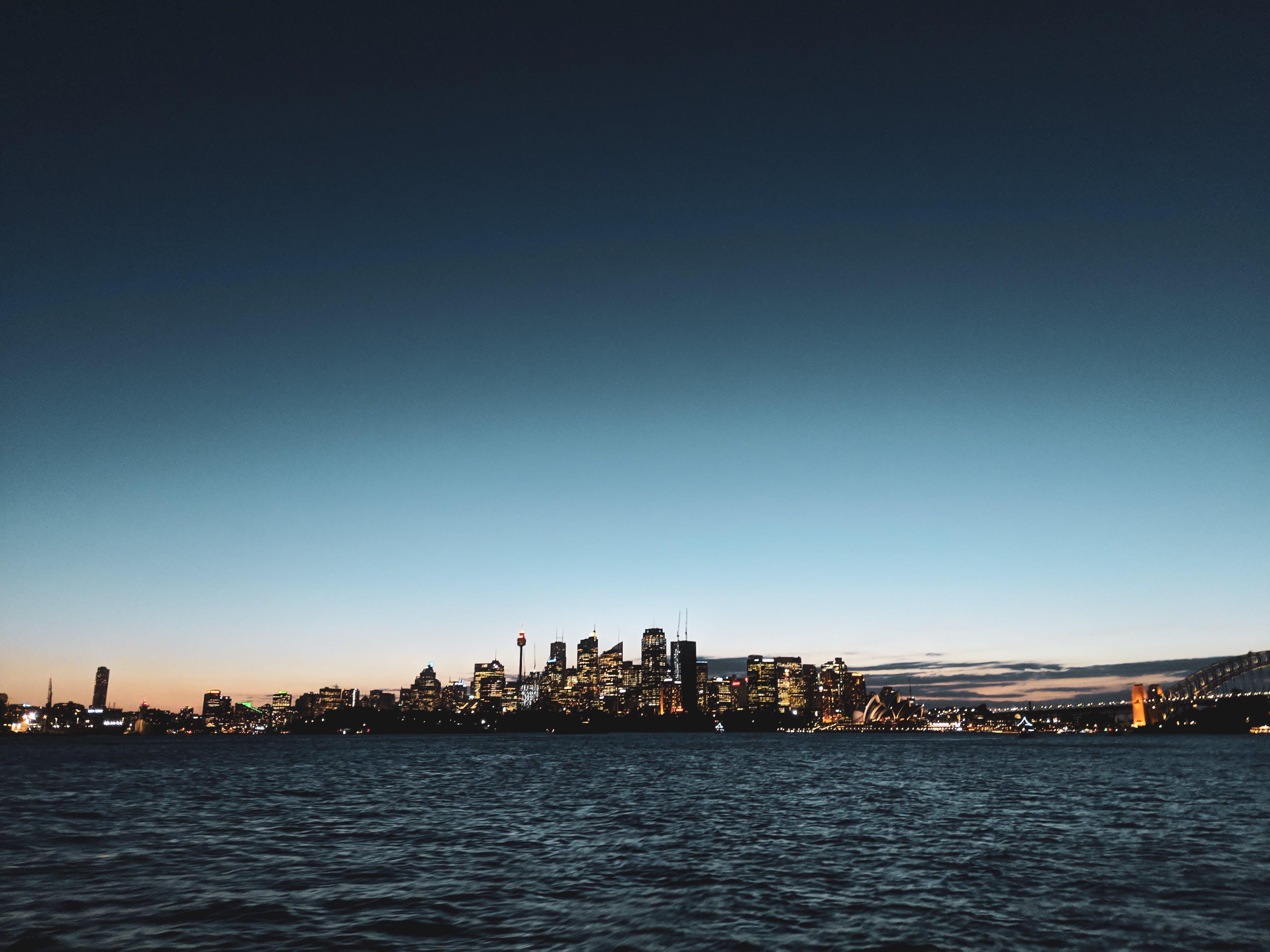 Overlooking Cityscape
