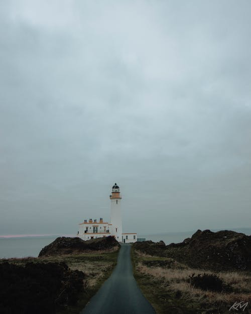 Free stock photo of coast, lighthouse, scotland, turnberry