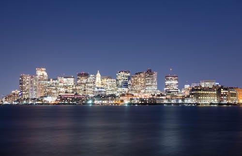 Бесплатное стоковое фото с бостон, гавань, длинная экспозиция