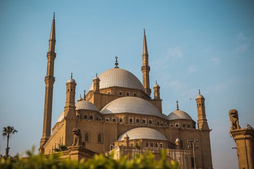 Foto profissional grátis de céu, construção, Egito, mesquita