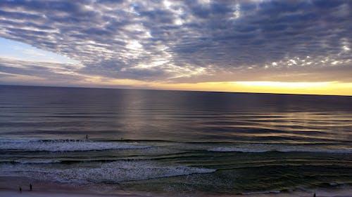 Photos gratuites de ciel, coucher de soleil, golfe du mexique, plage